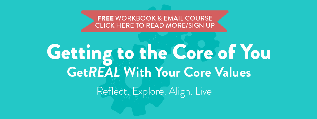 Core Values Workbook and Email