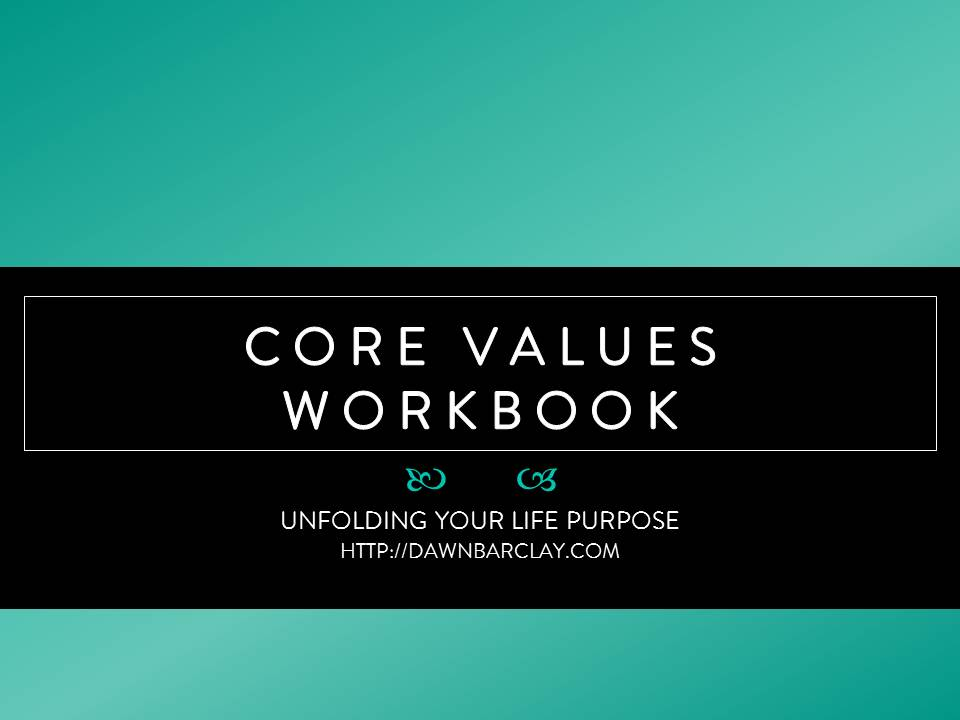 Core Values Worksheet Karibunicollies – Core Values Worksheet