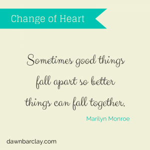 It's Okay to Have a Change of Heart