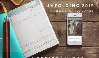 Unfolding Blog Sidebar