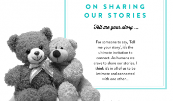 On Sharing Our Stories1