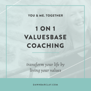 Valuesbase Coaching Dawn Barclay