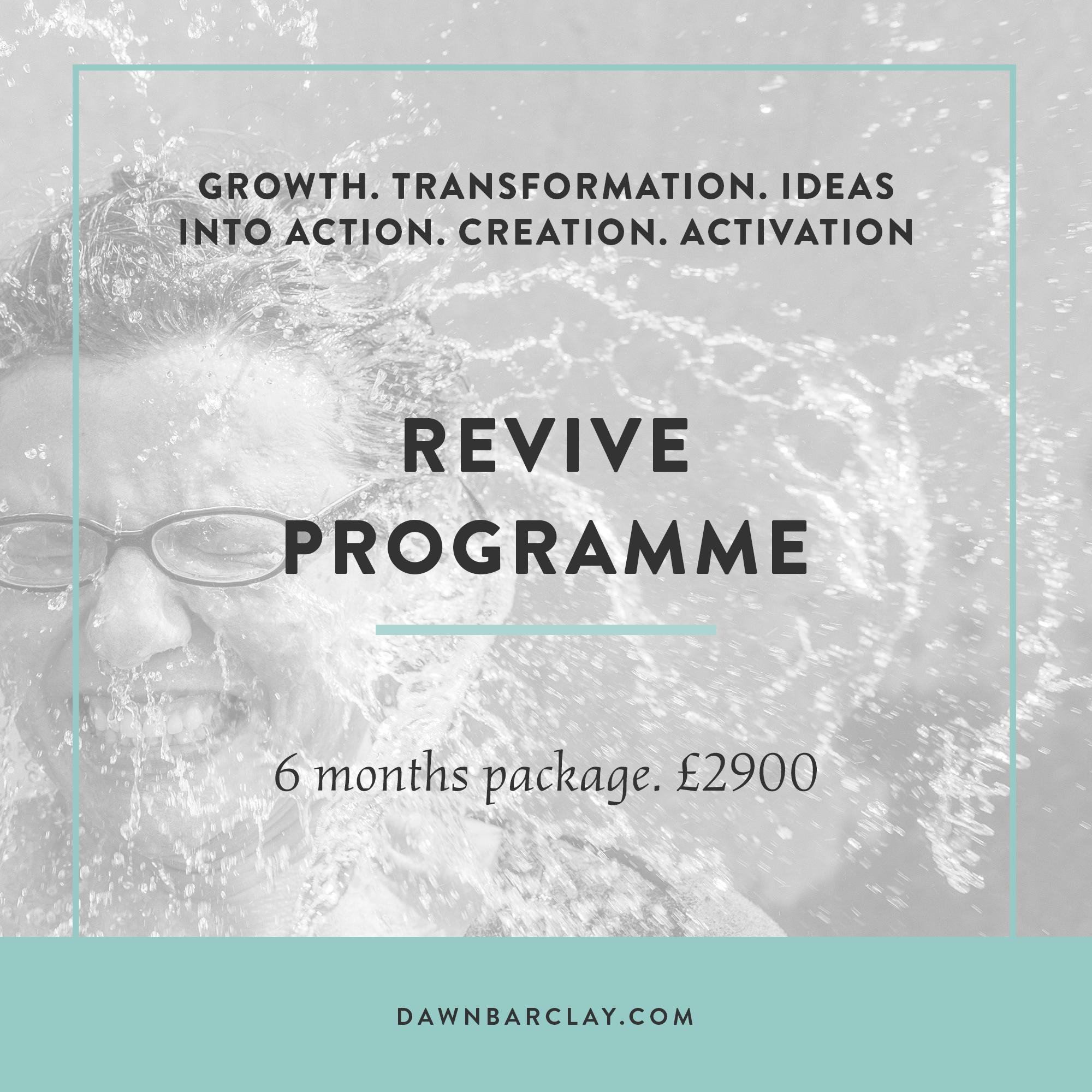 revive coaching programme