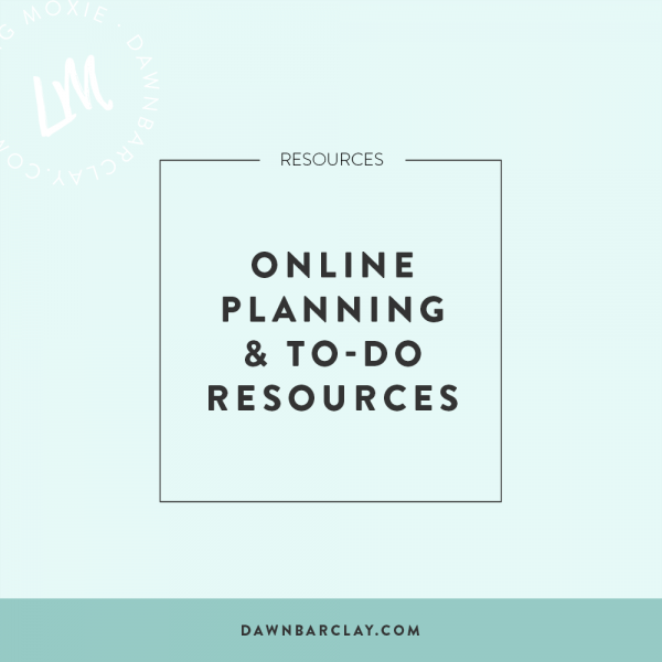 Online Planning Tools (Resources)